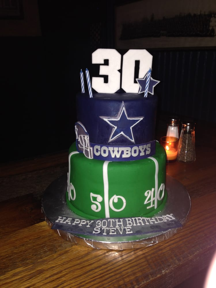 Amazing Birthday Cake For My Husbands Surprise 30th Yelp