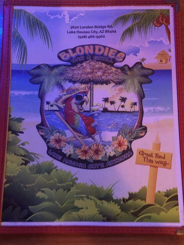Blondie's Bar & Grill: 3620 London Bridge Rd, Lake Havasu City, AZ