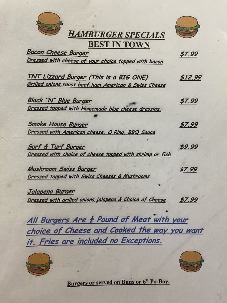 Tnt Seafood: 12217 Highway 22, Springfield, LA