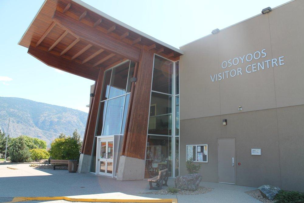Osoyoos Visitor Centre: 9912 BC-3, Osoyoos, BC