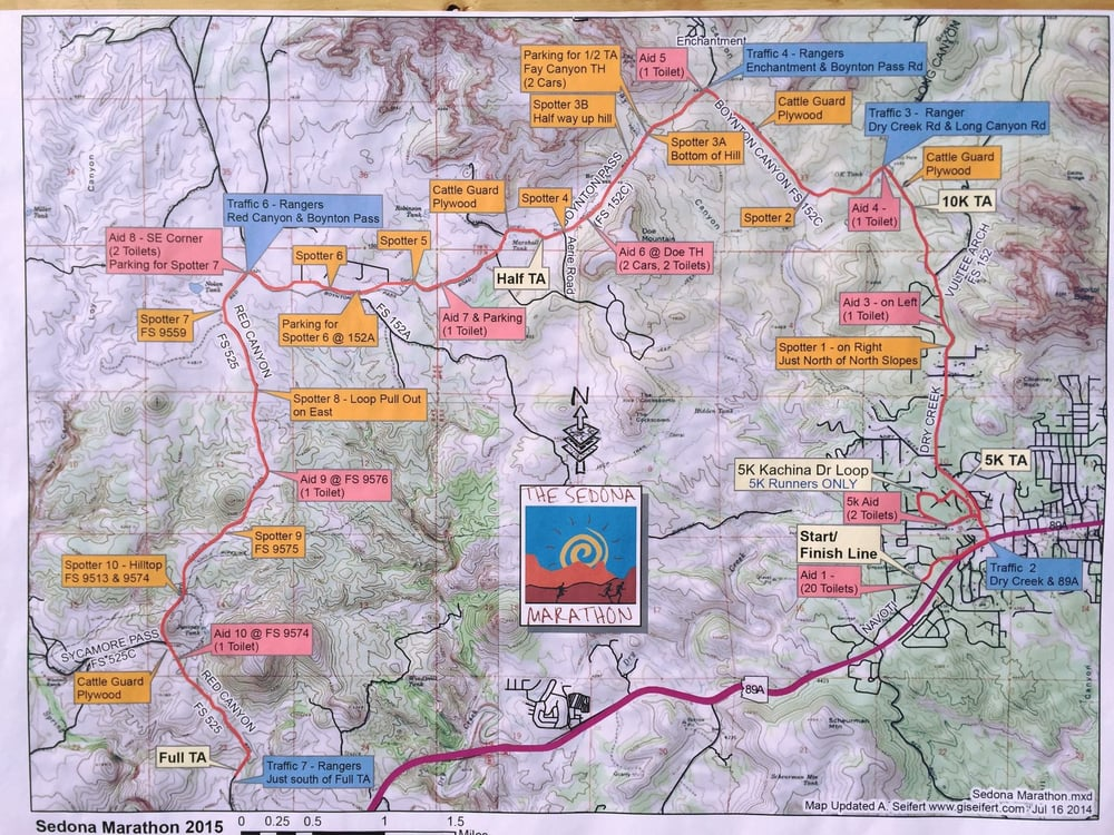 Sedona Marathon - Races & Competitions - 3700 West State Route 89A ...