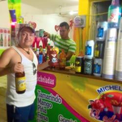 photo of el adoqun puerto escondido oaxaca mexico micheladas el adoqui