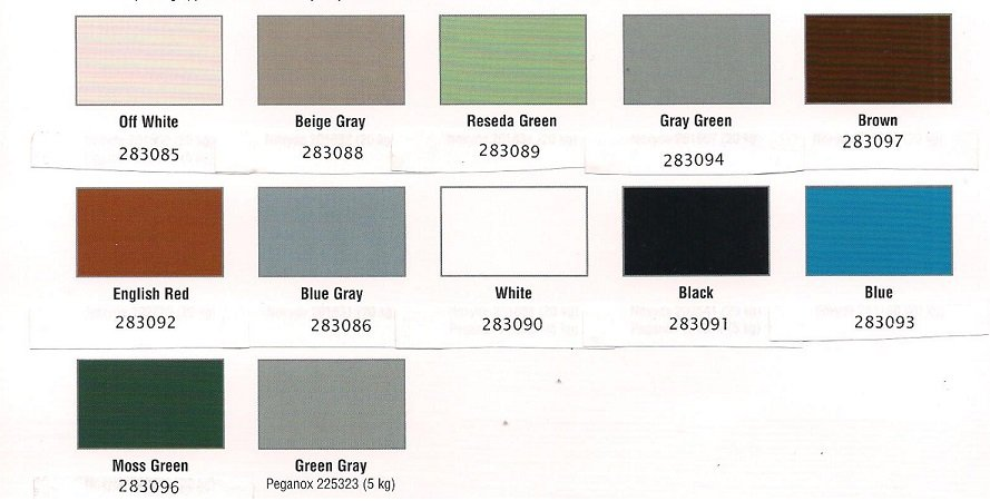 Photo of Duval Paint & Decorating - Jacksonville, FL, United States. Noxyde Color Chart