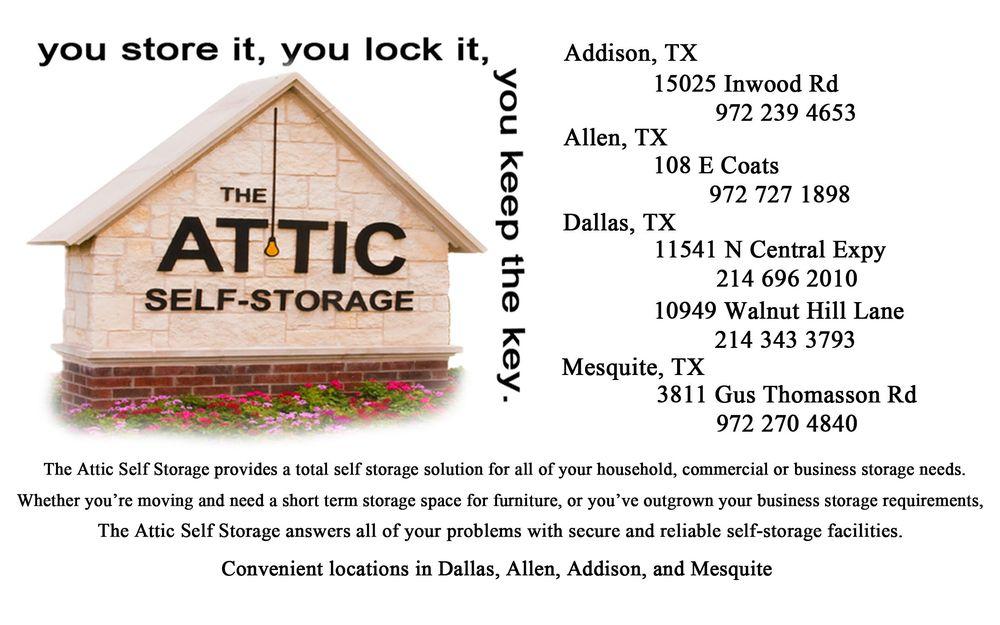 Photo Of Attic Self Storage Mesquite Tx United States