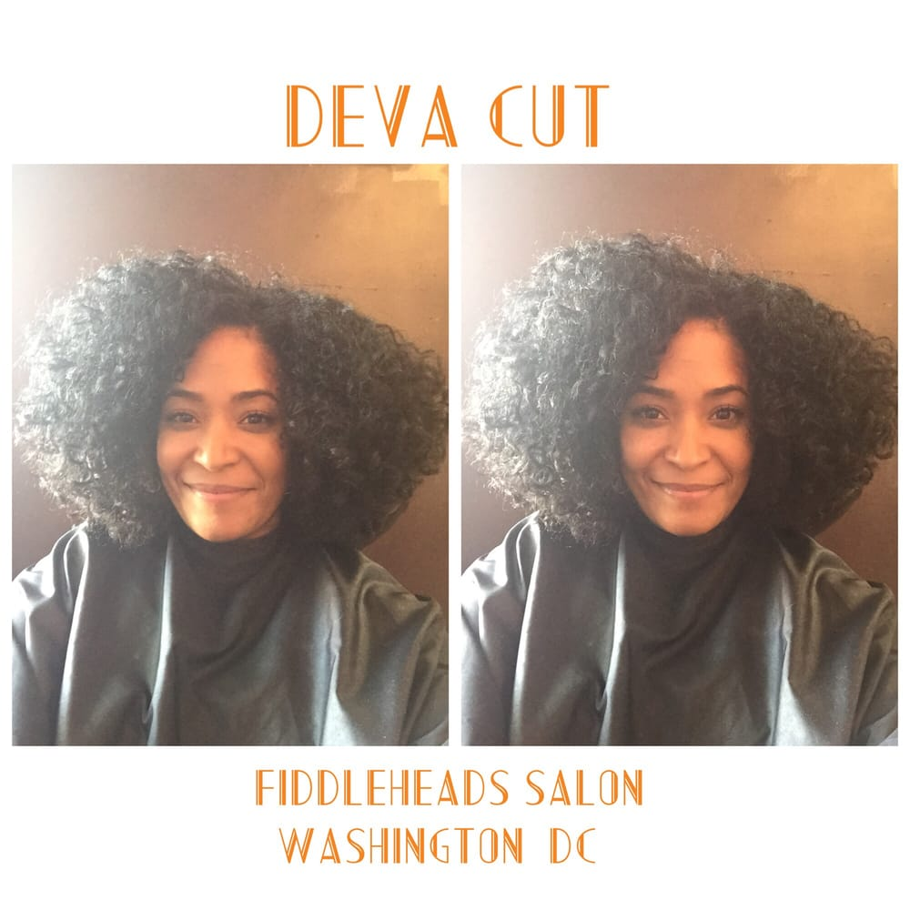 Deva Cut By Vickie At The Fiddleheads Salon In DC Yelp - Curly cut dc