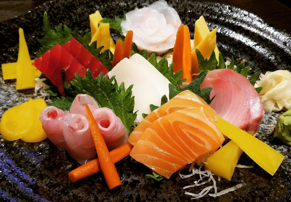 Food from Mizu 36 Asian Cuisine