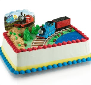 Thomas The Train Cake Baskin Robbins
