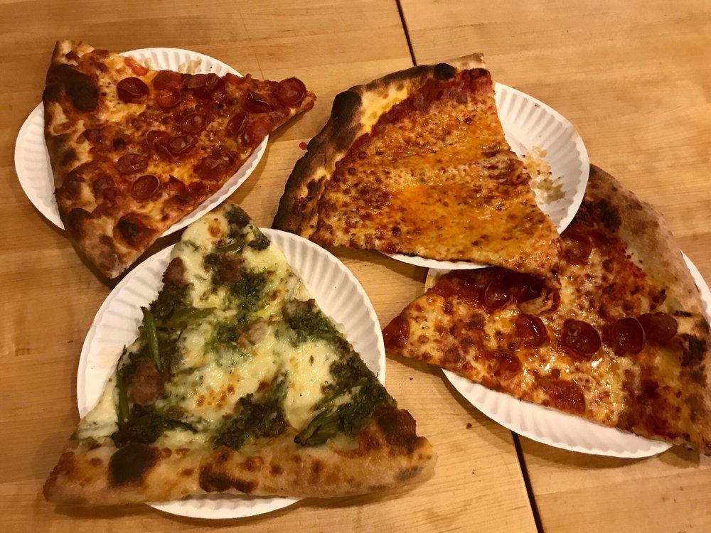 Food from Audrey Jane's Pizza Garage