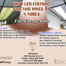 Apadana Led Lighting And Solar Fixtures