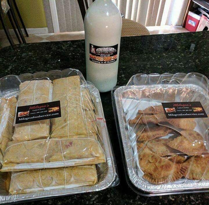 Holiday Favorites Pasteles Empanadillas Coquito Yelp