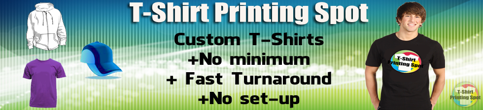 T-Shirt Printing Spot - CLOSED - Screen Printing/T-Shirt Printing