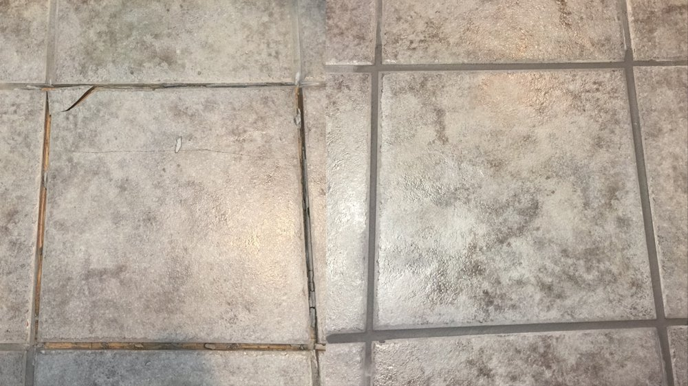Photo Of Reset Grout Cleaning Greeley Co United States Replace Broken Tile
