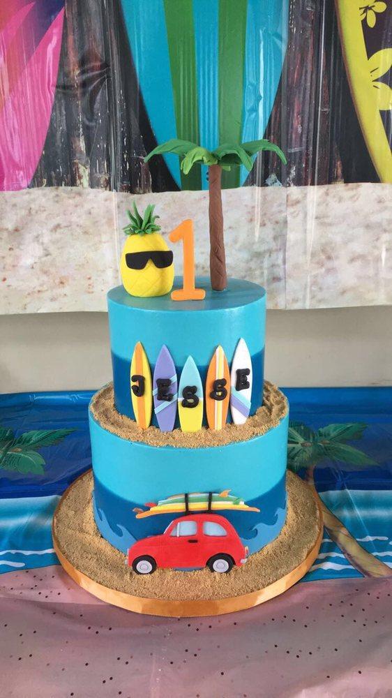 First Birthday Luau Cake Yelp