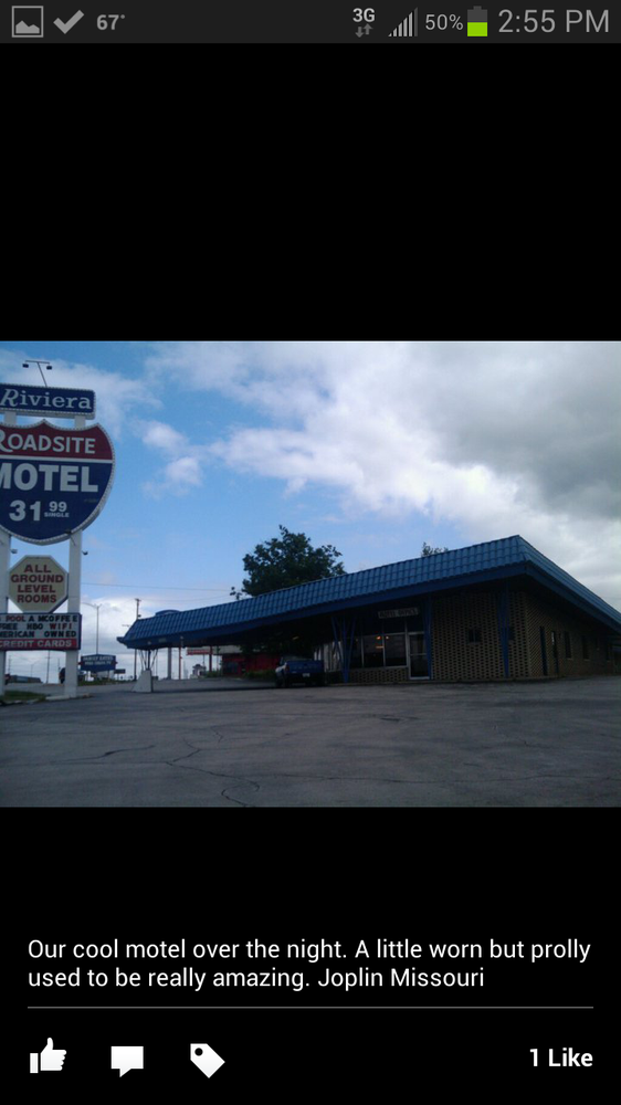 Riviera Roadsite Motel: 3333 S Range Line Rd, Joplin, MO