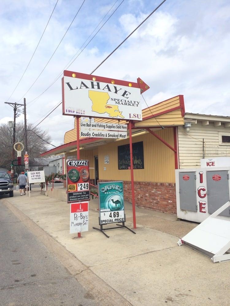 LaHaye Specialty Market: 118 East Tircuit Rd, Morganza, LA