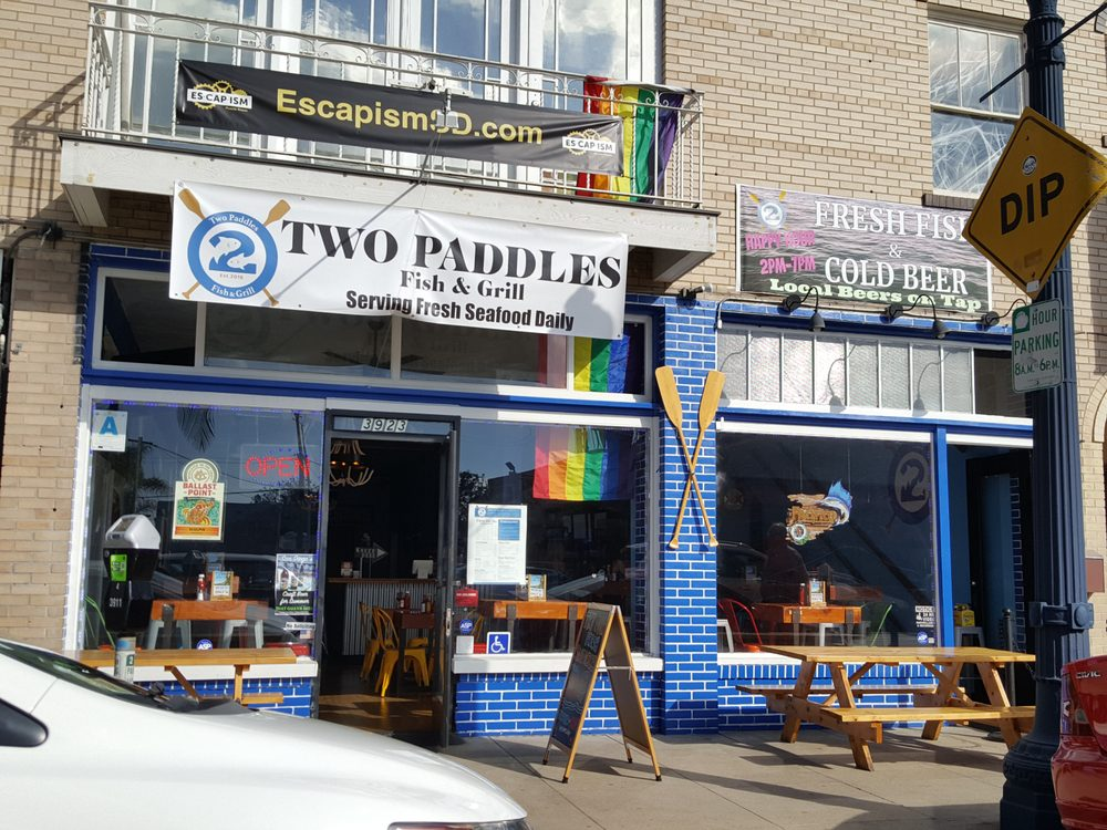 Two paddles fish grill 149 fotos y 123 rese as for Best fish and chips in san diego