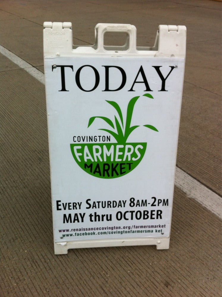 Covington Farmers Market: 3rd & Court St, Covington, KY