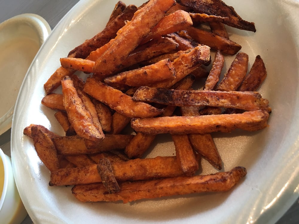 Go for the sweet potato fries regular ones are kind of for Soul fish memphis