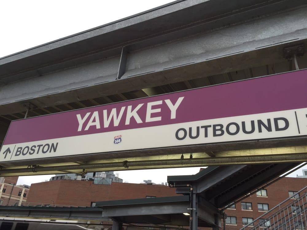 Yawkey Mbta Station Commuter Rail Train Stations 85