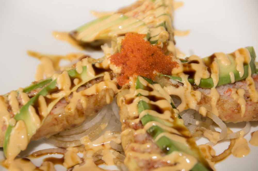 Food from Osae Sushi Ramen Bistro