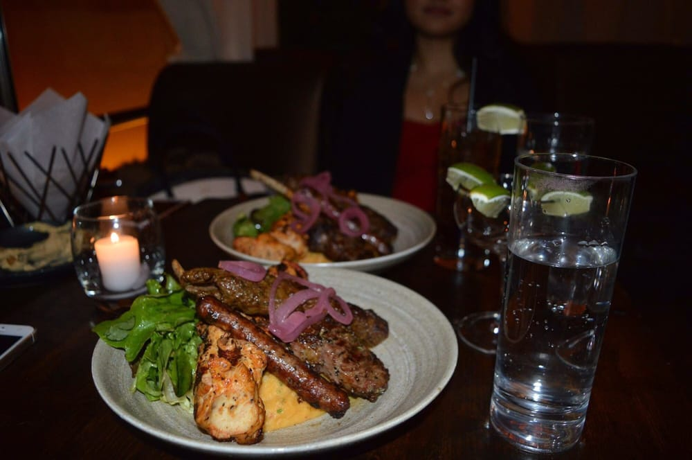 Timeout nyc arabic food with sexy decor
