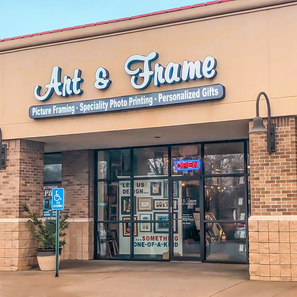 Art & Frame: 1317 N Maize Rd, Wichita, KS