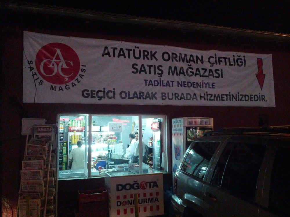 Atatürk Orman Çiftliği Satış Mağazası: Atatürk Orman Çiftiği Silahtar Cad. No: 11, Ankara, 06