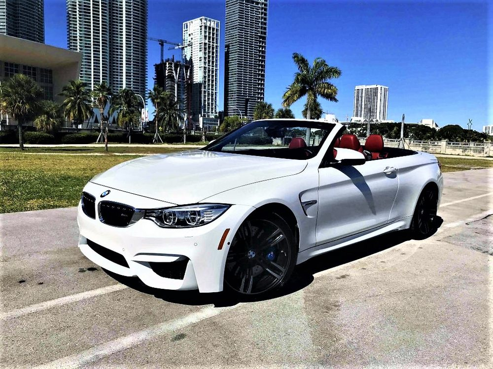 Miami South Beach Car Rental Luxury Exotic Bmw M4 Convertible