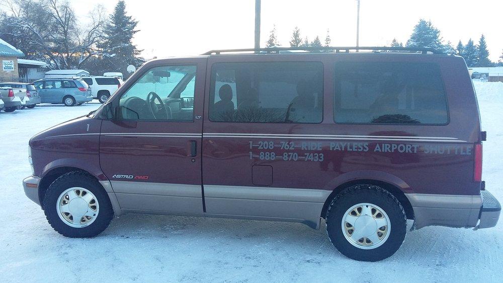 Payless Airport Shuttle: 12241 N Kelly Rae Dr, Hayden Lake, ID