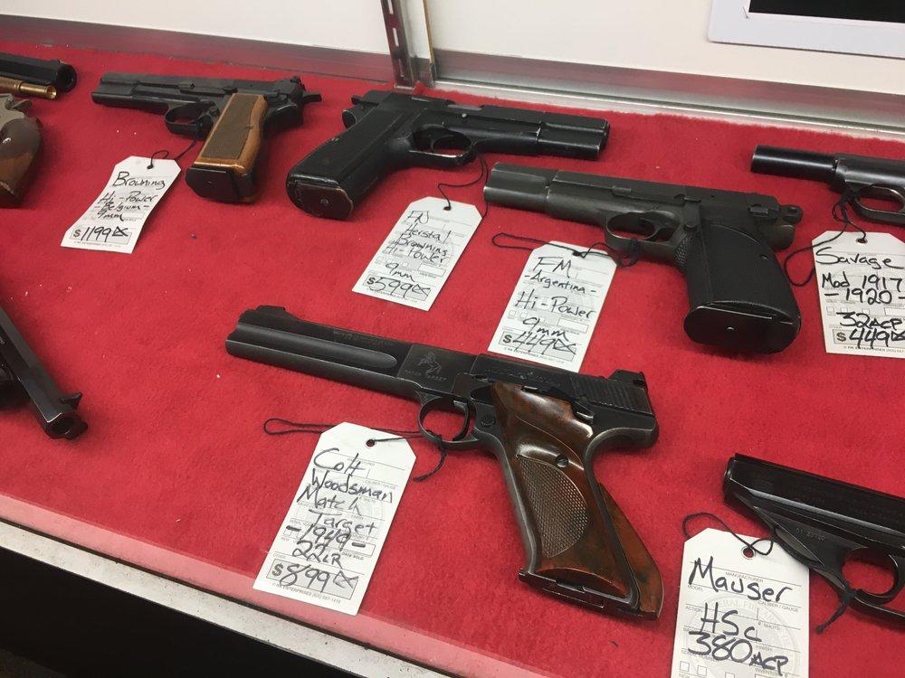 North American Firearms: 315 S Main St, Lombard, IL