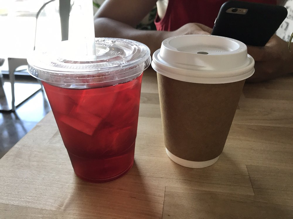 Wild Berry Hibiscus Iced Tea And Pour Over Black Coffee Yelp