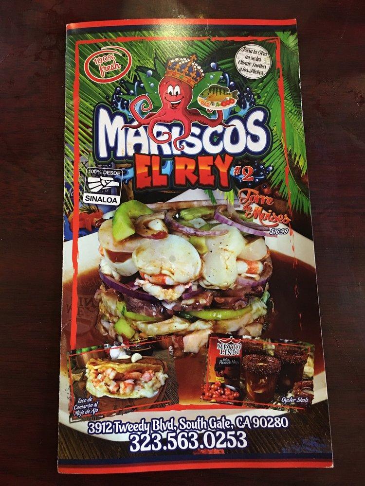 Mariscos El Rey 2: 3912 Tweedy Blvd, South Gate, CA