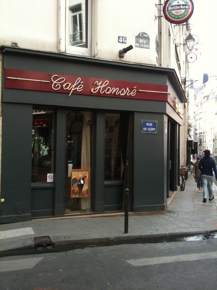 Cafe Honore Rue De Clery