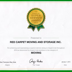 Photo Of Red Carpet Moving And Storage   Walnut Creek, CA, United States.