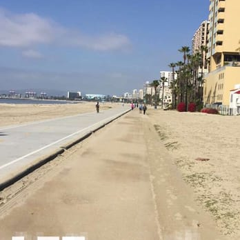 Photo Of Sline Pedestrian Bikepath Long Beach Ca United States A Lovely