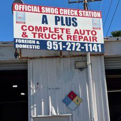 A Plus Auto >> A Plus Auto Truck Repair 11 Photos 21 Reviews Smog Check