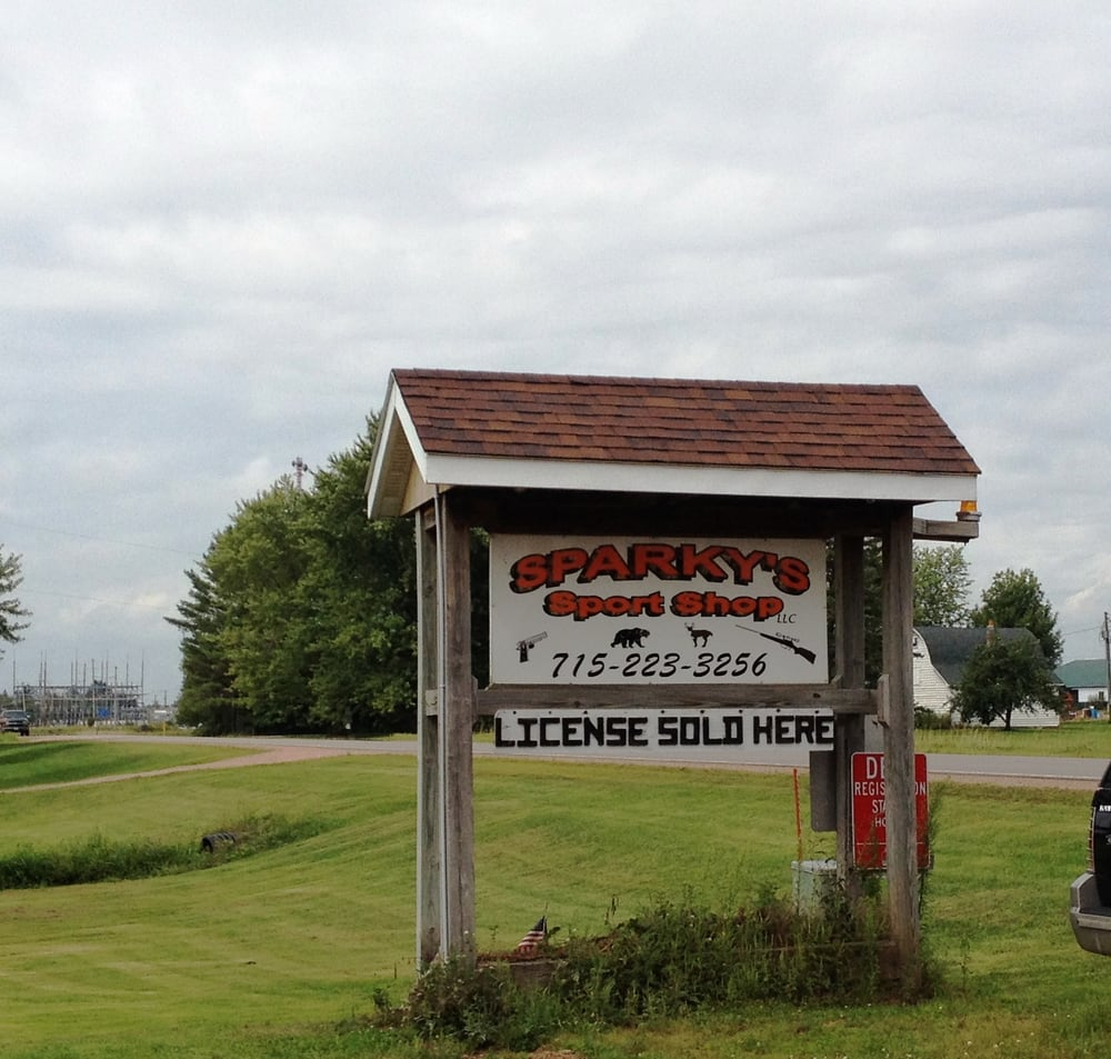 Sparky's Sport Shop: W327 County Rd N, Colby, WI