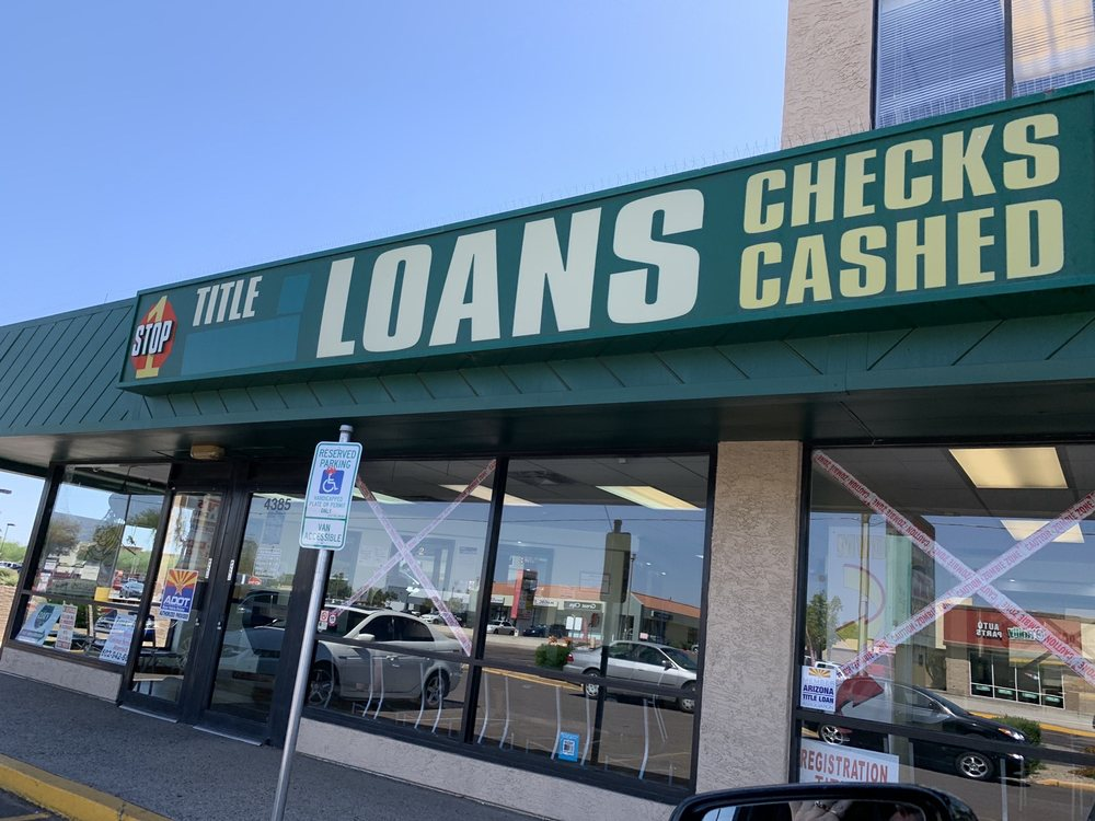 1 Stop Title Loans & Motor Vehicle Services