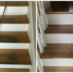 Photo Of Apex Hardwood Floors   Revere, MA, United States. Stairs Water  Damage