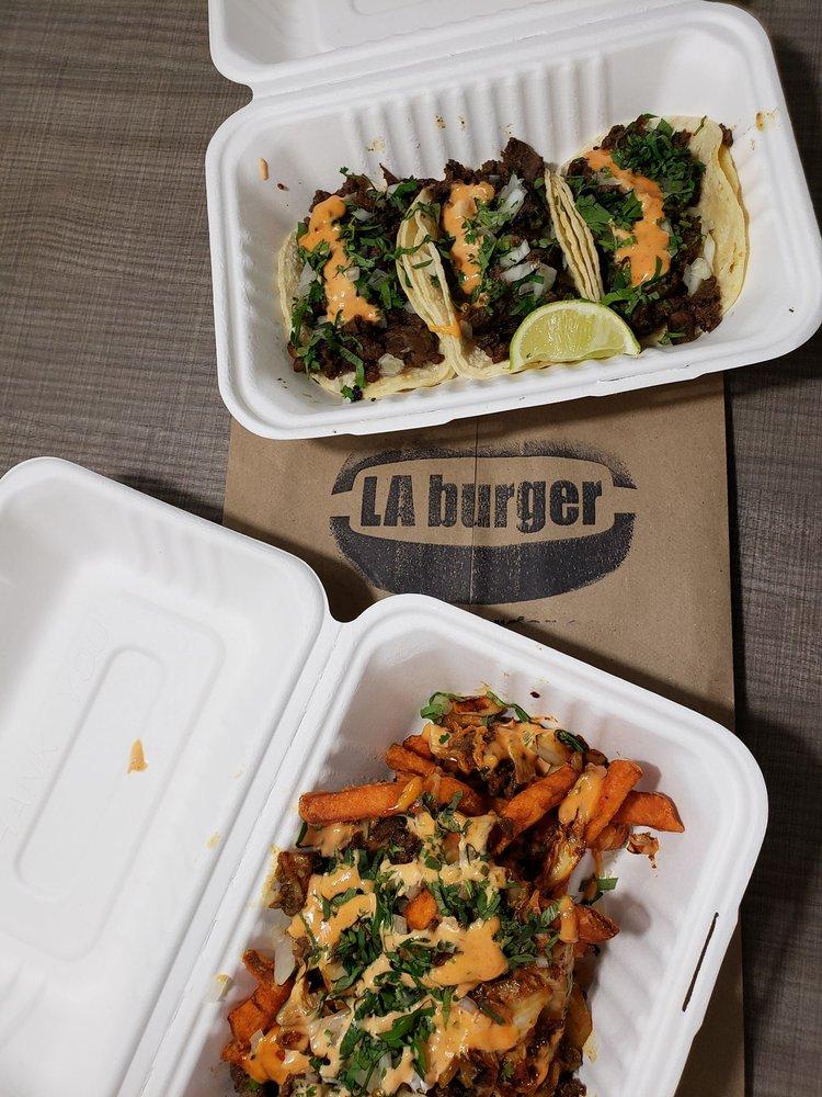 LA Burger: 2000 N Plano Rd, Richardson, TX
