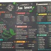 Photo of Tea Space Sunset Park - Las Vegas, NV, United States. Drink menu