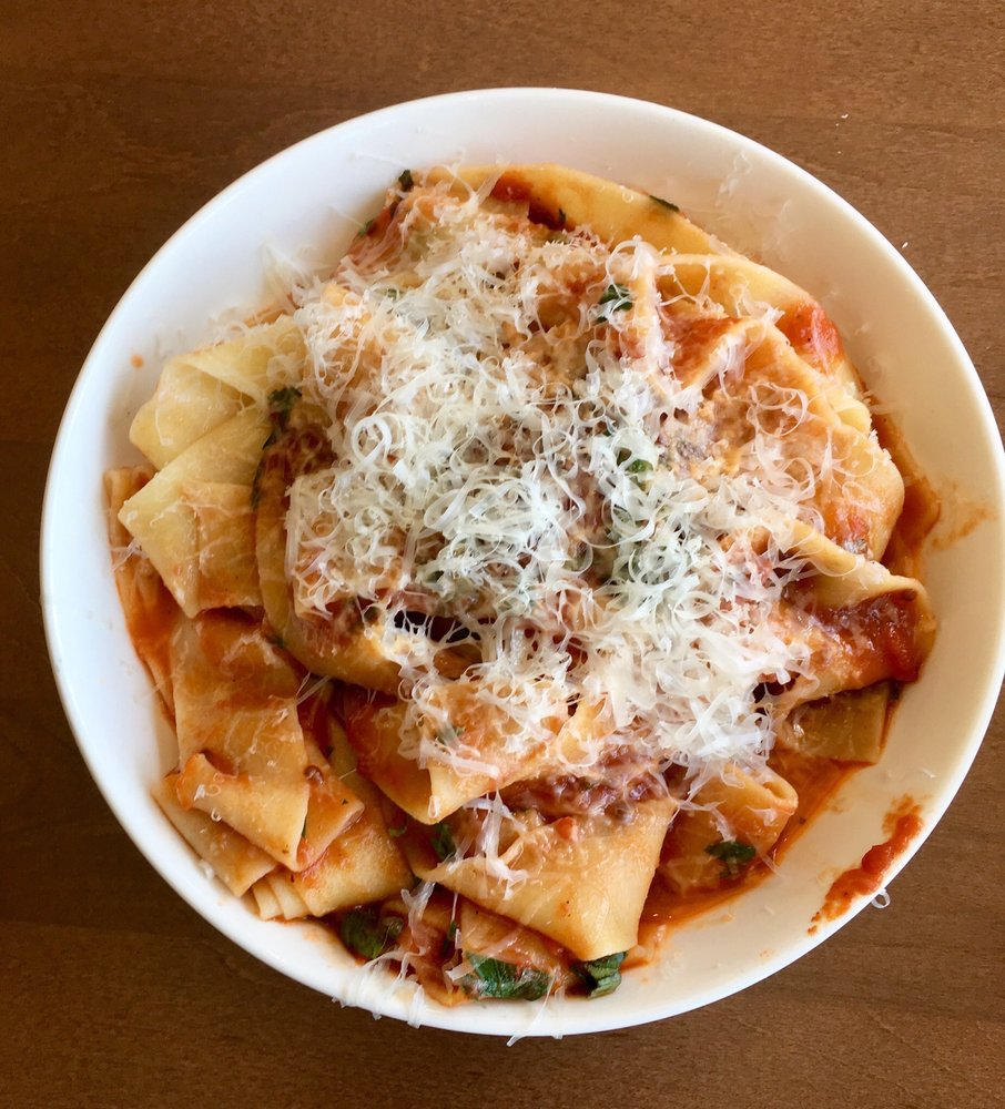 Food from Egg & Flour Pasta Bar