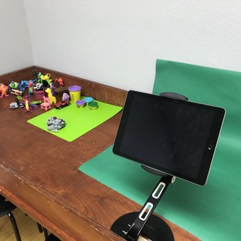 Stop motion studio with green screen! - Yelp