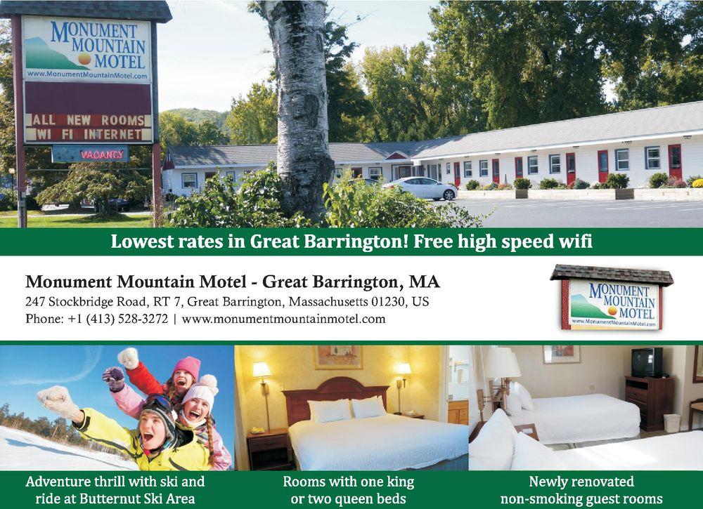 Monument Mountain Motel: 247 Stockbridge Rd, Great Barrington, MA