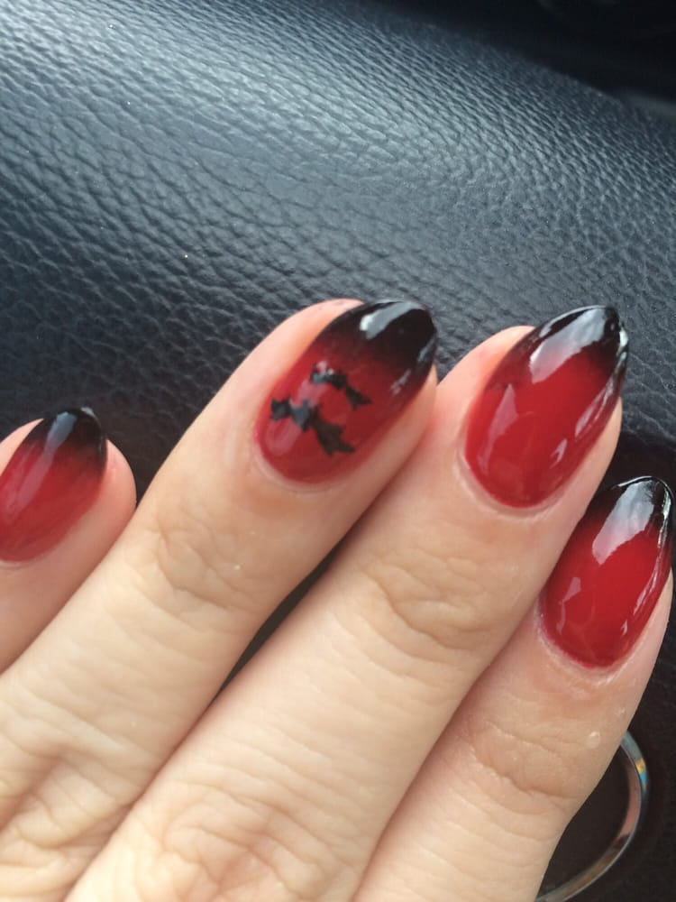 Lost Boys inspired, nail art by Liem. He is great! - Yelp