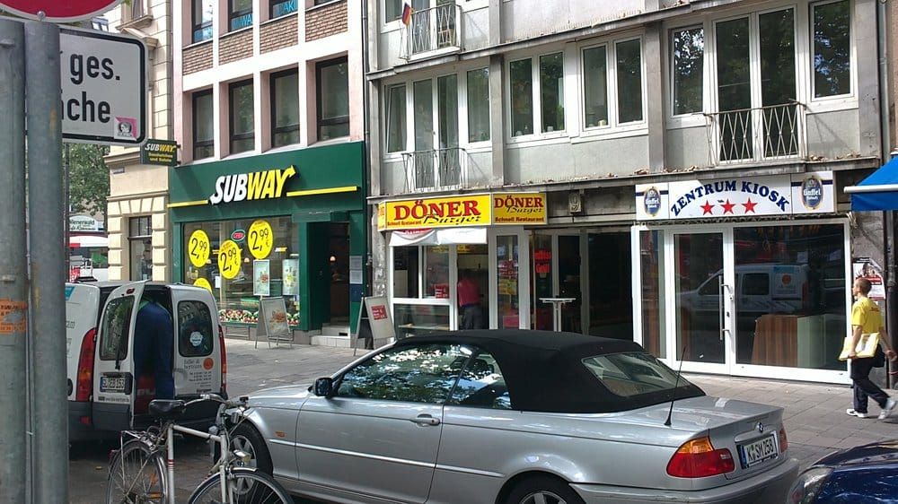 subway snabbmat chlodwigplatz 7 severinsviertel k ln nordrhein westfalen tyskland. Black Bedroom Furniture Sets. Home Design Ideas