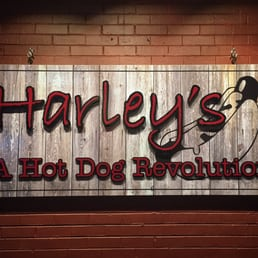 Harleys Hot Dog Revolution Menu