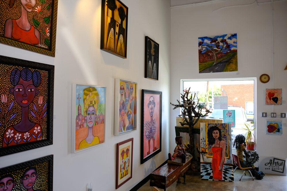 Social Spots from Artful Framing & Gallery