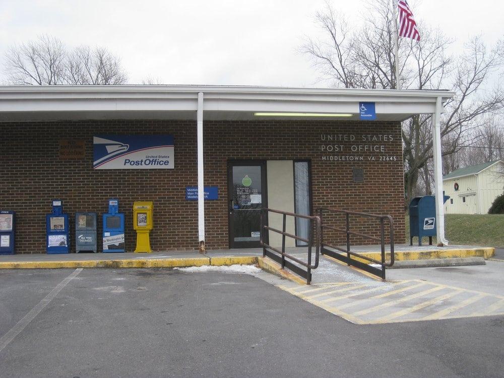 US Post Office: 7922 Main St, Middletown, VA