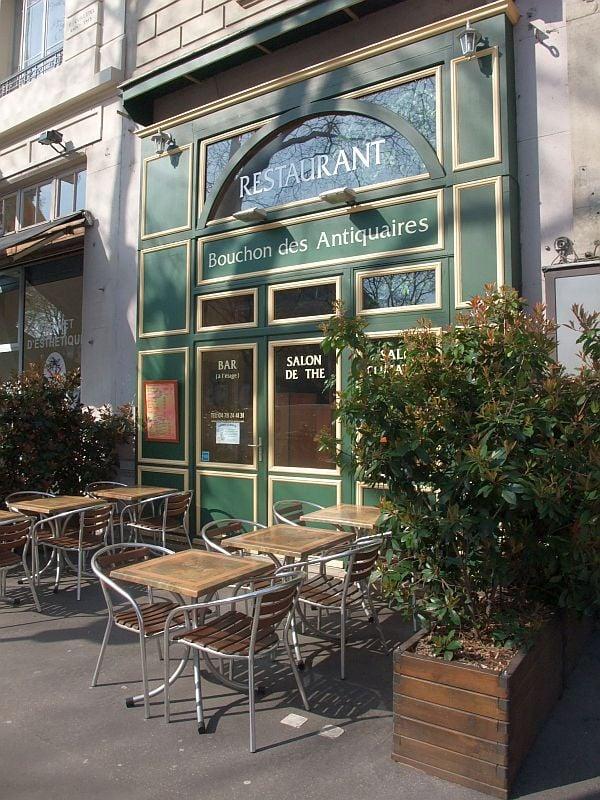 Restaurant Le Bouchon Des Antiquaires Lyon